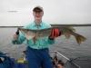 RWZ 34 inch pike # 2 on walleye rod