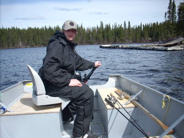 Courtney and luke spring cherrington canadian fly in for Canadian fishing trips cheap