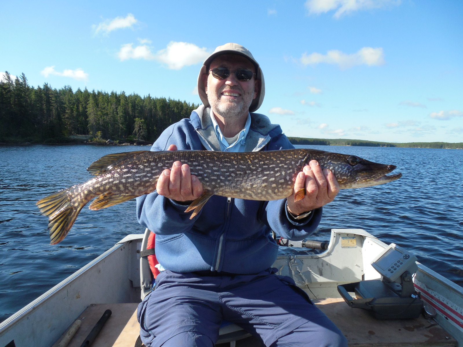 Dark water lake trophy fish 2014 canadian fly in fishing for 1041 the fish