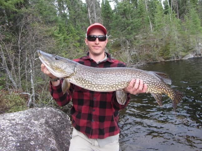 Jeanette Lake trophy fish 2013