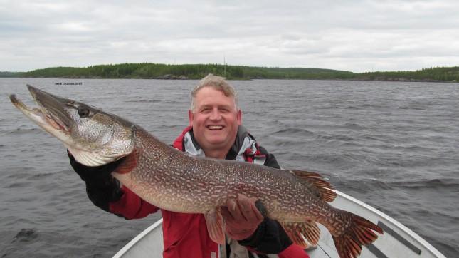 Cobham Morley trophy fish 2013