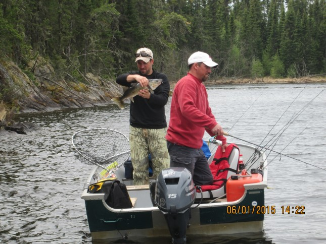 Settling in for the season canadian fly in fishing for Canadian fishing trips cheap